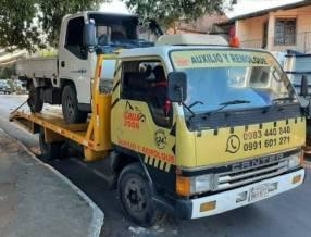 Servicio de grua 24 horas para vehículos pesados