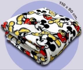 Frazada Mickey Mouse 110 x 90 cm
