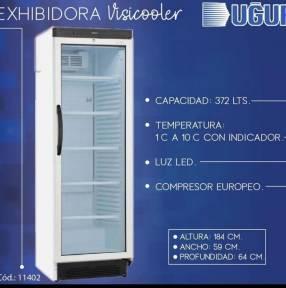 Visicooler vertical Ugur 372 lts