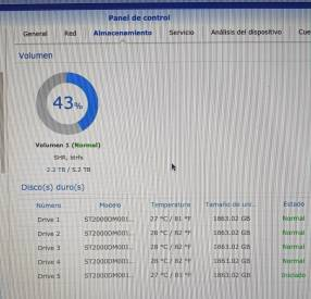 NAS Synology DS1515+
