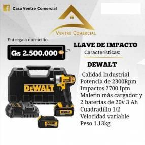 Llave de impacto Dewalt 20V