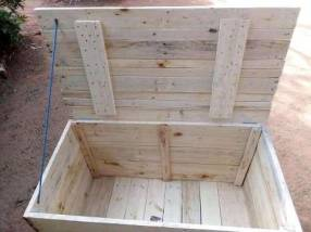 Caja baúl rustico 90x50x50cm