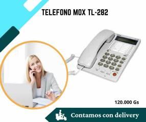 Teléfono Fijo MOX MO-TL282 con identificador de llamadas