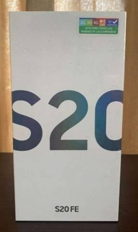 Samsung Galaxy S20 FE 128 gb nuevos en caja lacrada