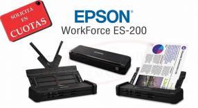 Escáner Portátil Epson WorkForce ES-200
