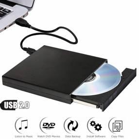 Lector grabador externo usb cd dvd Asus SDRW-08D2S-U