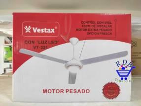 Ventilador de techo Vestax con luz LED