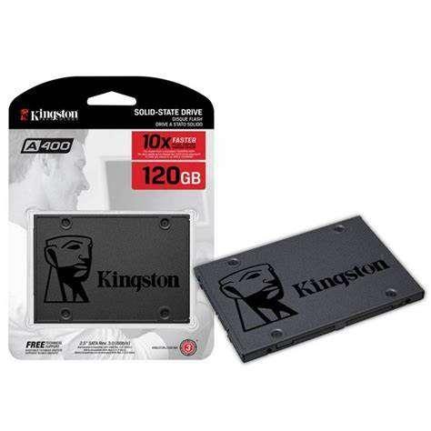 """HD SSD Sata 120gb Kingston 2.5"""" SA400S37 - 0"""