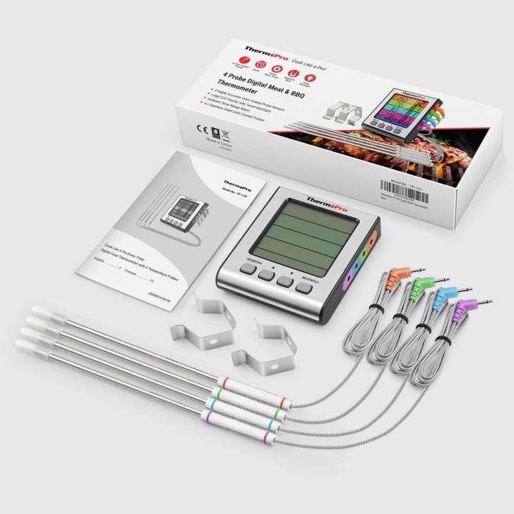 ThermoPro TP17H Termómetro digital de cocina 4 sondas - 1