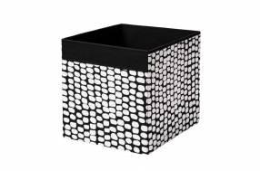 Caja decorativa negro/blanco Drona 2276