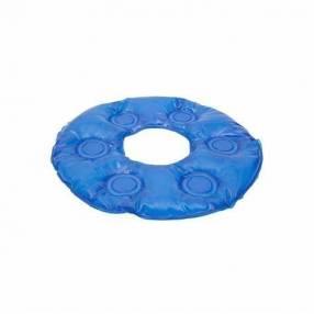 Almohada en gel redonda con orificio para escaras y coxis