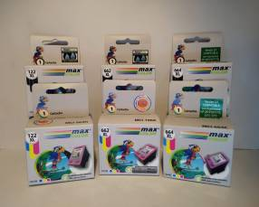 Cartuchos de tinta tamaño XXL Max Color