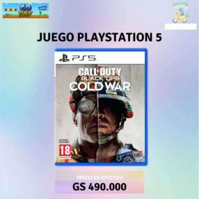 Call Of Duty Black OPS Cold War para PS5