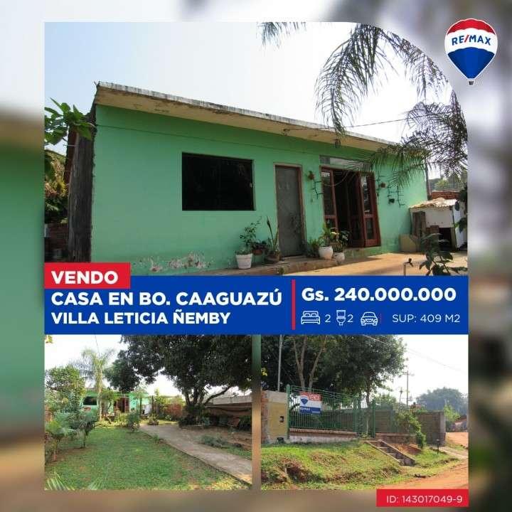 Casa en Ñemby Barrio Caaguazú Villa Leticia - 0