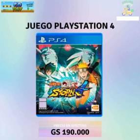 Naruto Ultimate Ninja Storm 4 para PS4