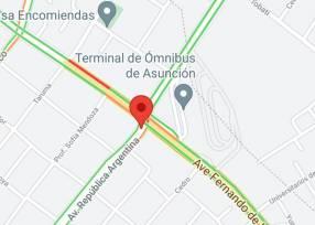 Parada de taxi Terminal de ómnibus Asunción