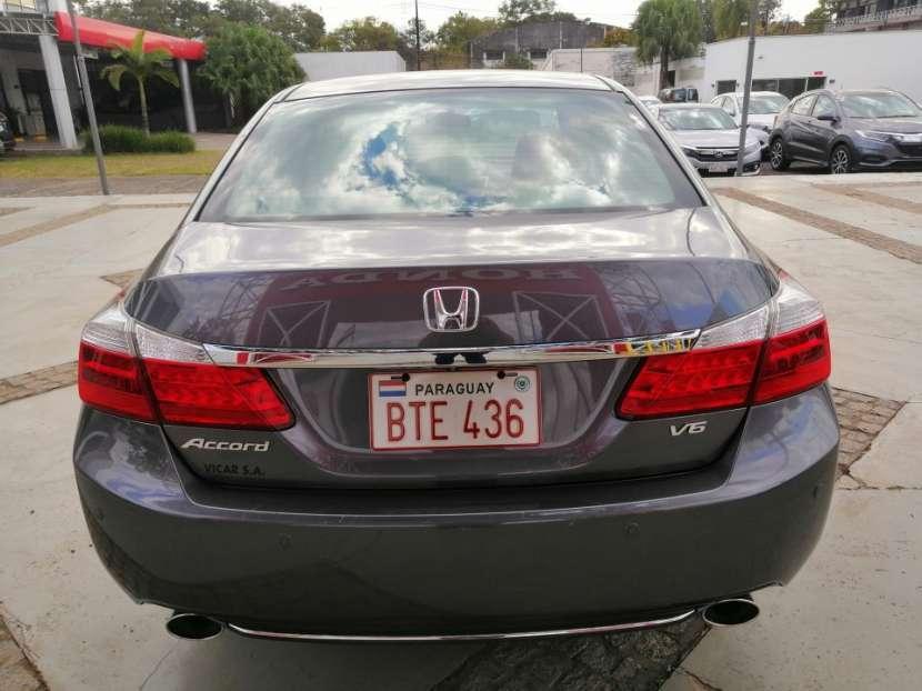 Honda Accord EXL 2014 motor V6 3.5 naftero automático - 7