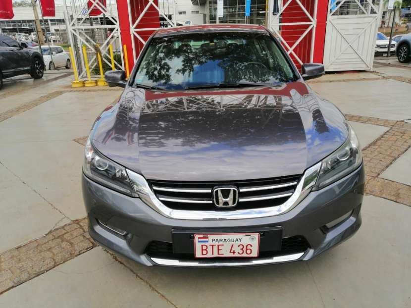 Honda Accord EXL 2014 motor V6 3.5 naftero automático - 0