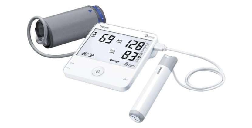Tensiómetro de brazo con electrocardiograma - 0