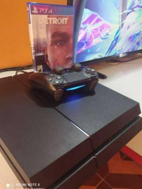 PlayStation 4 Fat impecable segunda generación de 500 gb