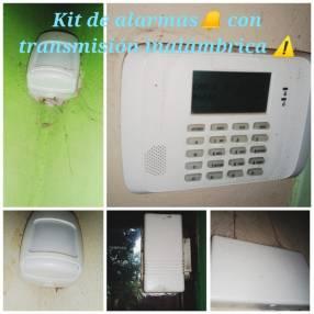Kit de alarma de transmisión inalámbrica