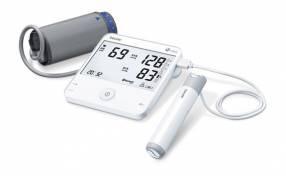 Toma presión digital con ecocardiograma