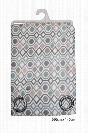 Diana & Doménico - Cortina con Diseños Geométricos