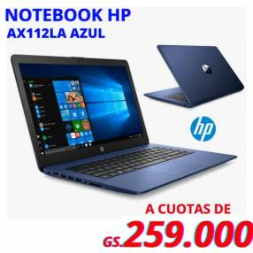 Notebook HP AX112
