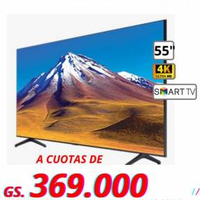 Smart TV Samsung de 55 pulgadas 4K