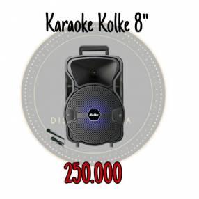 Parlante karaoke Kolke 8 pulgadas