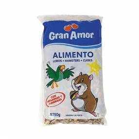 Alimento para hámster 250 gramos