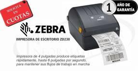 """Impresora Térmica Zebra ZD230D de etiquetas 4"""""""