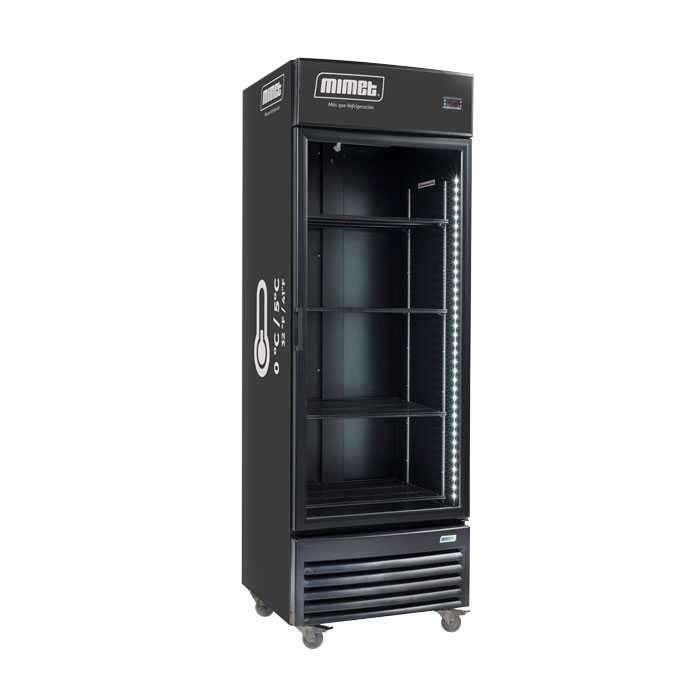Vitrina refrigerada vertical Mimet VV-19 - 0