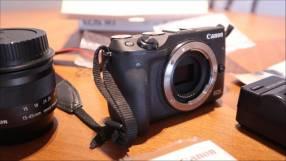 Cámara Canon EOS M3 Mirrorless 18-55mm