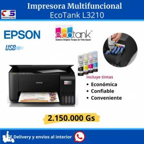 Impresora multifuncional Epson L3210