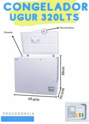 Congelador Ugur UDD 360 BK - 320L