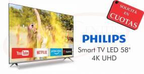 TV Smart LED Philips 58 pulgadas 4K UHD