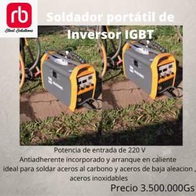 Soldador portátil con tecnología de inversor IGBT