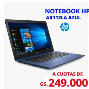 Notebook HP AX112 LA