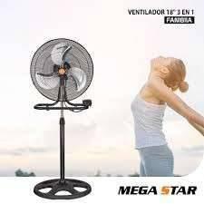 Ventilador 3 en 1 de 18 pulgadas 220V Mega Star
