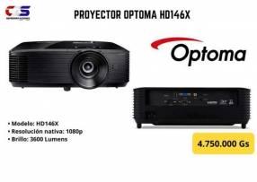 Proyector Optoma HD146X 3.600 lúmenes