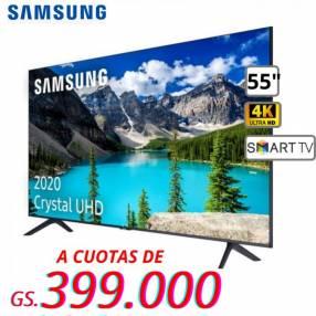 Smart TV Samsung de 55 pulgadas 4K UHD