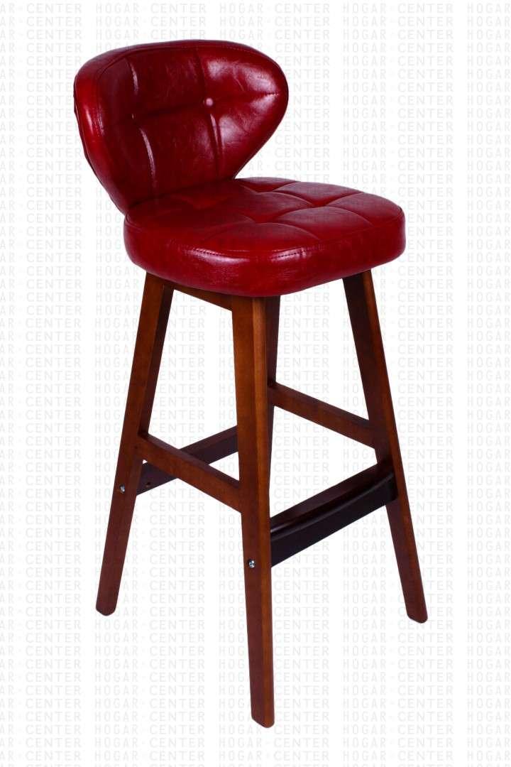 Silla alta rojo 40x40x95cm - 1
