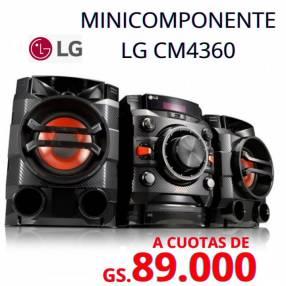 Equipo de sonido LG CM4360 2.600W