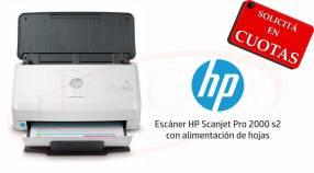 Escáner HP ScanJet Pro 2000 S2
