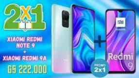 Xiaomi Redmi Note 9 + Xiaomi Redmi 9A
