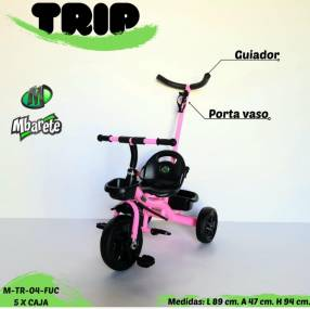 Triciclo trip con guiador