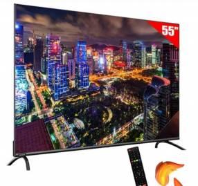 Smart TV de 55 pulgadas + soporte de regalo