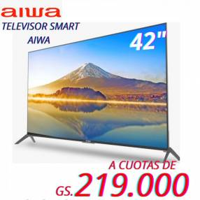 Smart tv Aiwa 42 pulgadas full HD