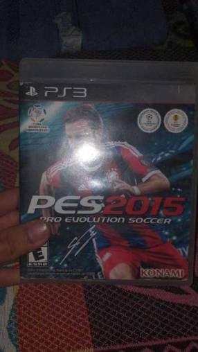 PES 2015 para PS3